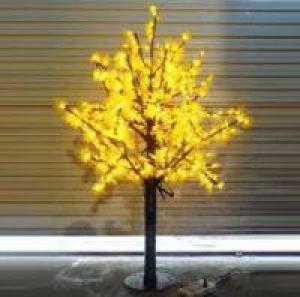 LED Artifical Maple Leaf Tree Lights Flower String Christmas Festival Decorative Light Blue/Green/White 39W CM-SLGFZ-636L2