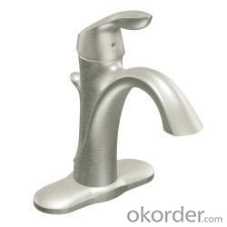 New Fashion Single Handle Bathroom Faucet Squar Basin Mixer