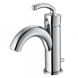New Fashion Single Handle Bathroom Faucet Squar Bathtub Faucet