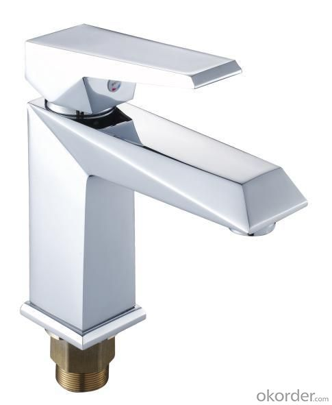 New Fashion Single Handle Bathroom Faucet Bathroom Vanity Sink Lavatory Faucet Basin Mixer
