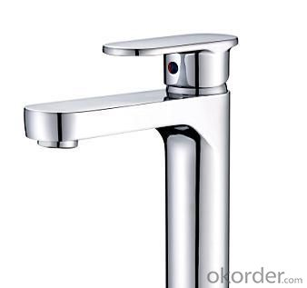 New Fashion Single Handle Bathroom Faucet Bathroom Centerset Faucet Basin Mixer