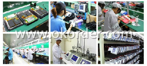 Workshop of 7 Inch Android GPS With DVR Function
