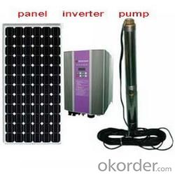 DC Solar Water Pump System