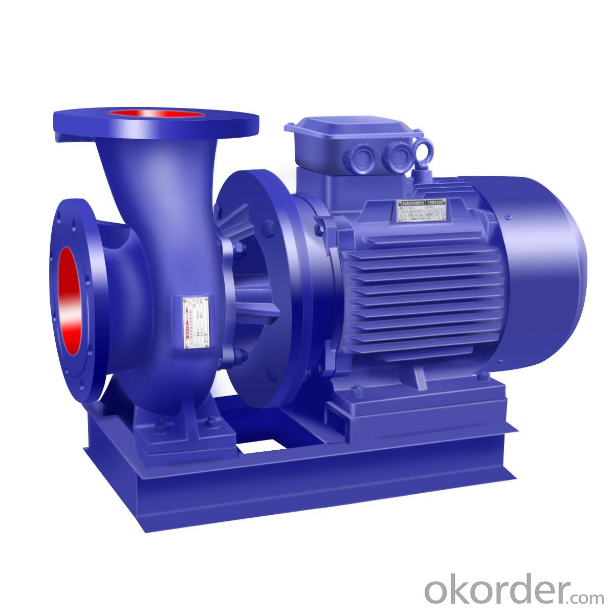 Horizontal Multi-Stage Double Suction Pump