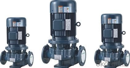 Centrifugal Pump with Vertical Axis