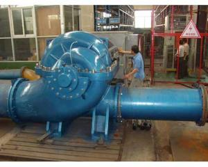 Duble-Suction Horizontal Split-Casing Pump