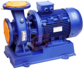 Centrifugal Pump of Horizontal Axis