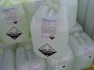 Phosphoric Acid 85%min H3PO4