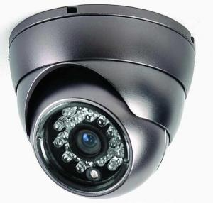 420TVL Hot Sell CCTV Security Dome Camera Indoor Series 24 IR LED FLY-4013 Metal Shell