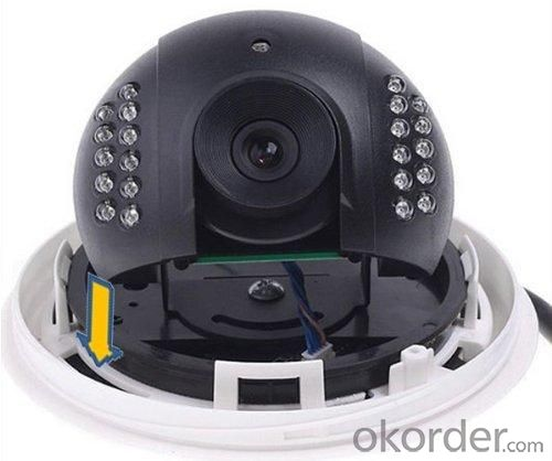 600TVL CCTV Security Dome Camera Series 22 IR LED FLY-3045