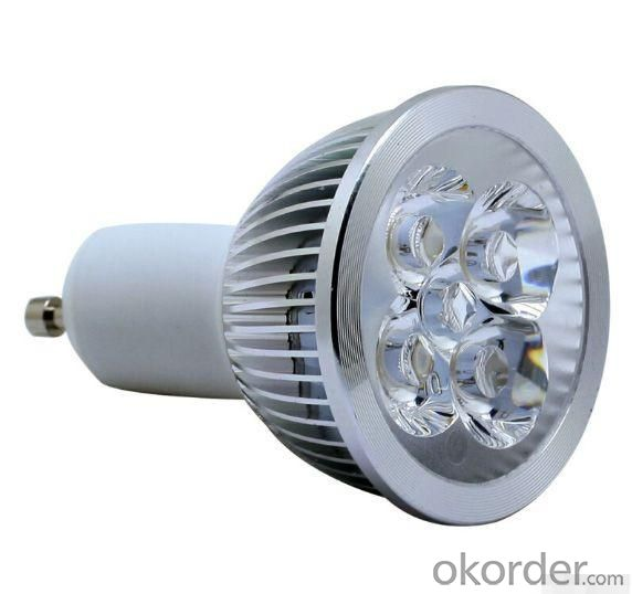 LED 4x1W Spot Light Gu10 Dia-cast Aluminum  110-240V