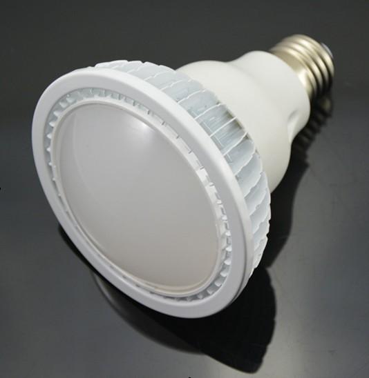 Dimmable LED PAR 30 Light Finned Radiator 6W E-Type Spot Light E27 Base SMD LED Chip 85-265V