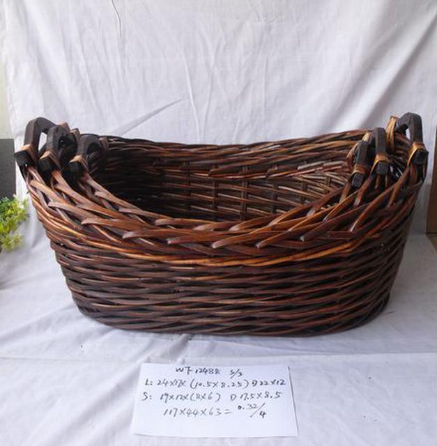 Hot Sale Home Organization Oval Home Storage Basket