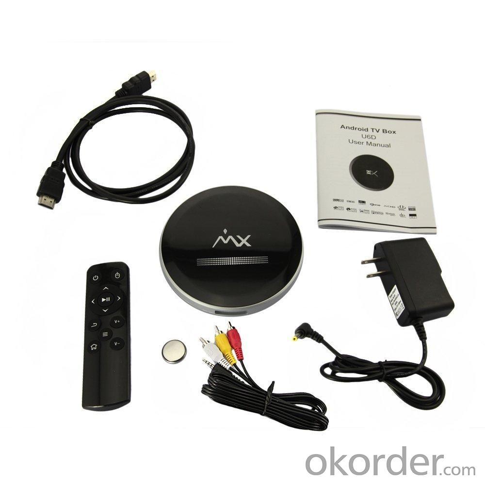 U6D MX Dual Core A9 Smart TV Box XBMC Media Player Mini PC