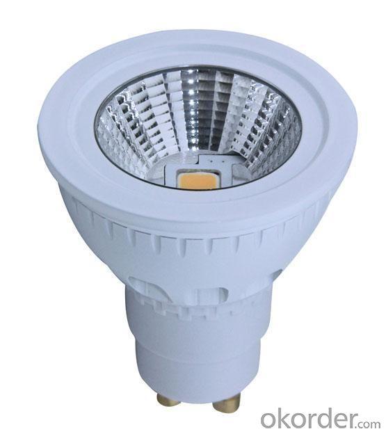 LED 5W Ceramics Spot Light Gu10/E27 COB LED Chip 90-260V
