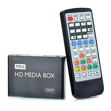 USB HD 1080P Media Player Media Box HDMI Output MKV AVI MOV Support SD Card