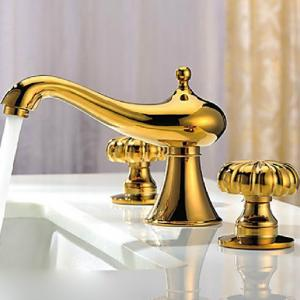 Antique Brass Body Basin Faucet