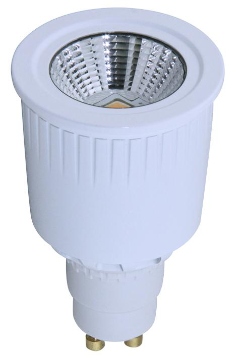 Dimmable LED 8W Ceramics Spot Light Gu10/E27 COB LED Chip 90-120V or 200-240V