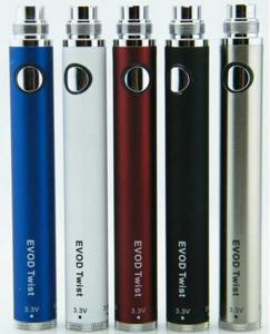 Electronic Cigarette EVOD TWIST Battery 650/900/1100mah