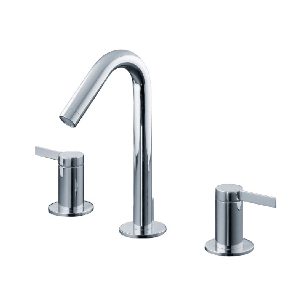 More Elegant Design Brass Body/Handle/Parts Chrome Plated Tap
