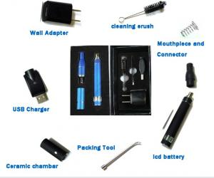 Electronic Cigarette Dry Herb Vapor Smoking Device