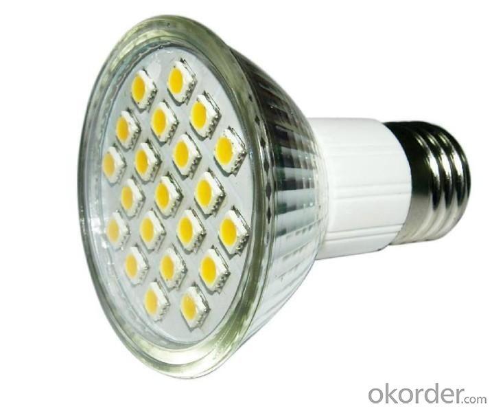 LED 5W Spot Light E27 Base SMD LED Chip 110-240V