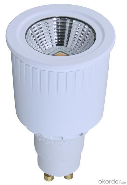 LED 8W Ceramics Spot Light Gu10/E27 COB LED Chip 90-260V