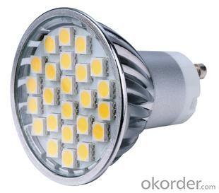 LED 4W Spot Light Gu10 SMD LED Chip 110-240V
