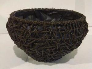 High Quality Hand Made Home Storage Basket Woven Basket With Liner
