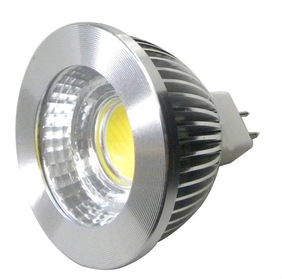 High CRI LED 5W COB Chip Spot Light MR16 Base 12V/24V