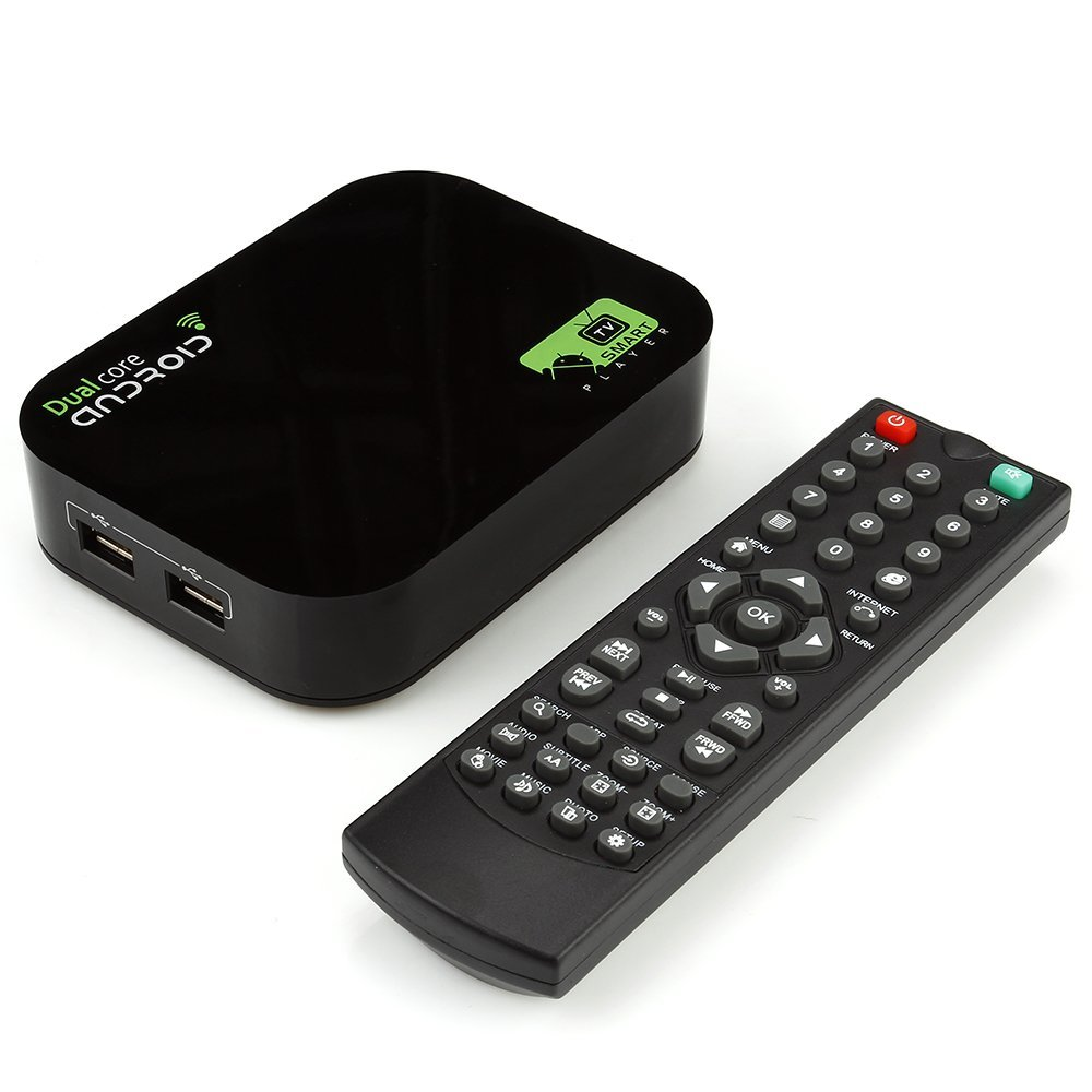 Dual Core Android 4.2 Smart TV Box Pro Media Player 1080P WIFI HDMI XBMC A20