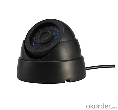 800TVL Hot Sell CCTV Security Dome Camera Indoor Series 24 IR LED FLY-3011 Plastic Shell