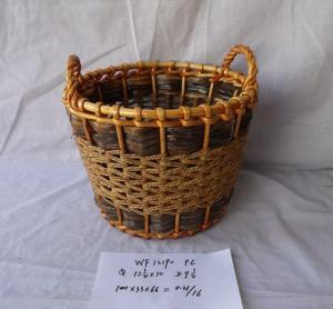 High Quality Home Storage Oval Shape Laundry Woven Basket