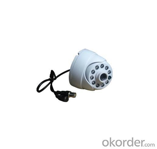600TVL Popular Stlye Dome CCTV Camera Indoor Series 10 IR LED FLY-3065