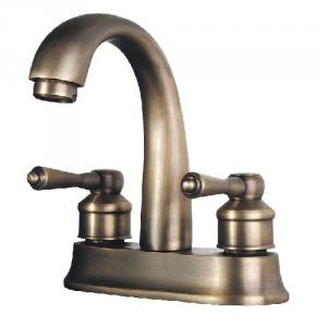 New Design Antique Plated Faucet With Two Handles