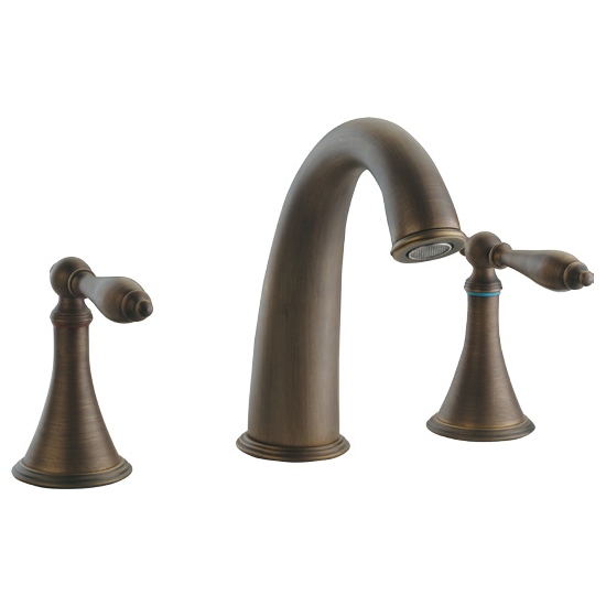 Antique Plated Faucet With Two Handles