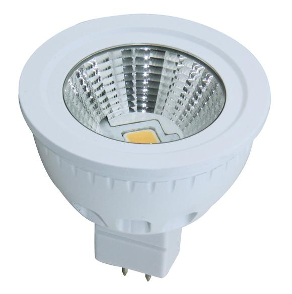 Dimmable LED 5W Ceramics Spot Light MR16 COB LED Chip12V