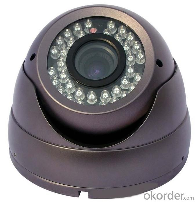 Hot Sell 800TVL CCTV Security Dome Camera Indoor Series 24 IR LED FLY-4011