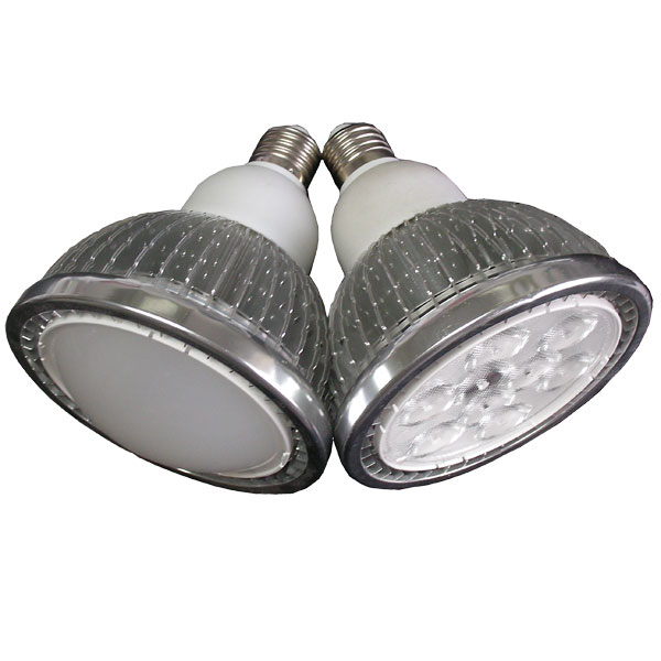 LED PAR 38 Light Finned Radiator 15W E-Type Spot Light E27 Base SMD LED Chip 85-265V