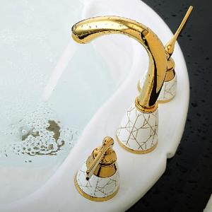 Brass Body Faucet With Two Handles