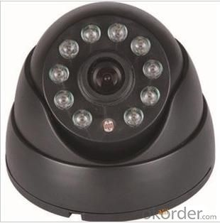 500TVL Popular Stlye Dome CCTV Camera Indoor Series 10 IR LED FLY-3064
