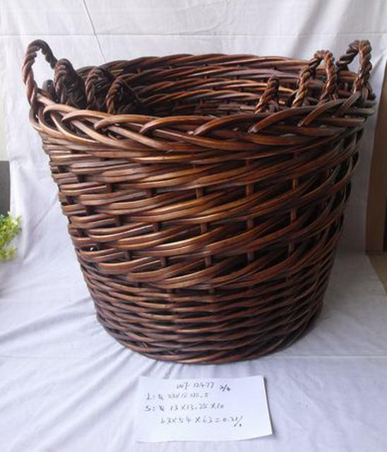 High Quality Home Organization Antique Home Storage Basket 3Pcs/Set