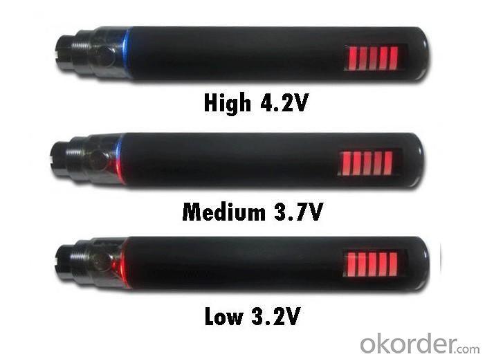 Electronic Cigarette Ego VV Variable Voltage Battery 1100mah