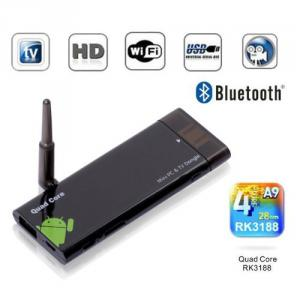 CX-919 Quad Core RK3188 Bluetooth Android 4.1 TV Box 2G/8G BT/HDMI Black