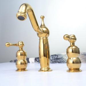 Two Handles Basin Faucet Bathroom Faucet Faucet Mixer