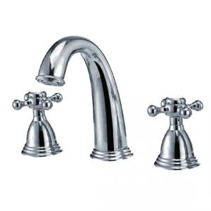 Kichen Faucet, Two Handle Brass Tap