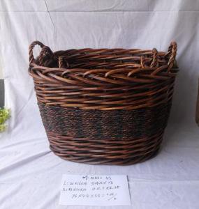 High Quality Home Organization Home Storage Basket Oval Woven Basket