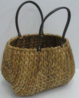 High Quality Hand Made Home Storage Basket Woven Basket With Handle