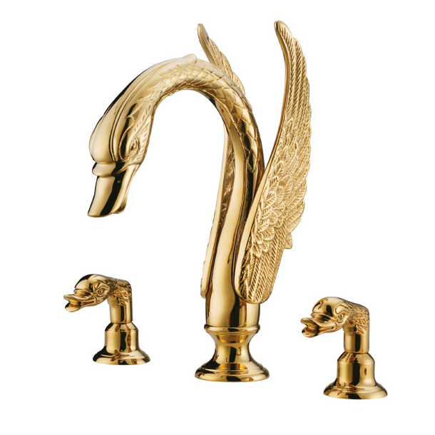 Swan Shape Double Handle Faucet