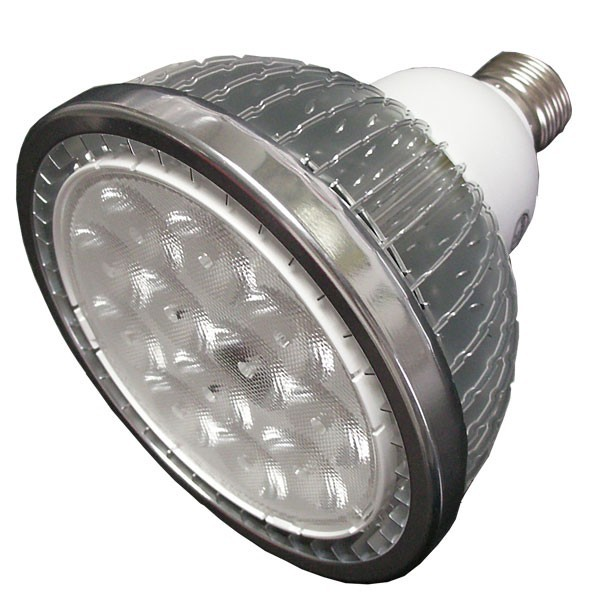 Dimmable LED PAR 30 Light Finned Radiator 9W B-Type Spot Light E27 Base SMD LED Chip 85-265V
